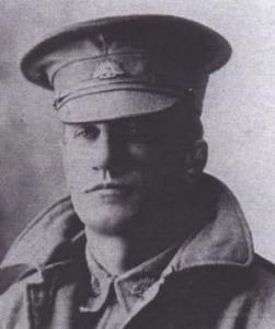 Arthur Cripps dressed in his army uniform