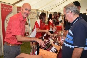 Enjoy wine tastings at the South Burnett Wine and Food in the Park Festival - image from the South Burnett Wine and Food in the Park Festival website